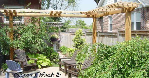 L shape pergola gardening pinterest pergolas rustic for L shaped pergola