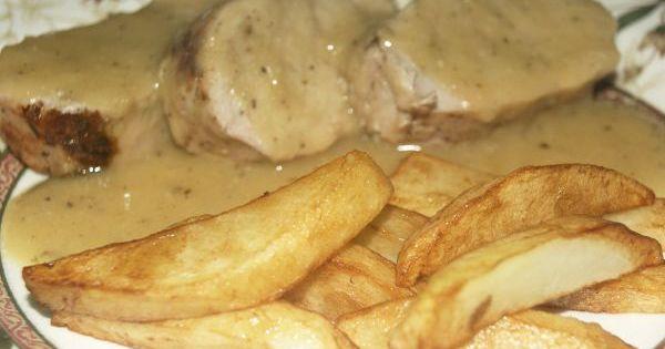 Receta de solomillo de cerdo al horno en salsa recipe - Solomillo de ternera al horno facil ...