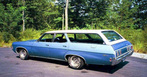 1969 Chevrolet Kingswood Station Wagon Station Wagon Chevy