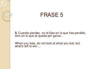 Frases En Ingles Traducidas A Espanol Frases En Ingles