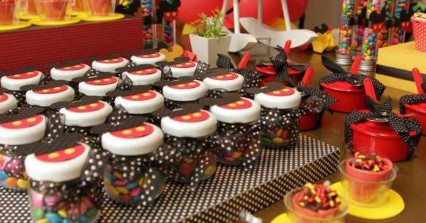 A really cute Mickey Mouse 1st Birthday Party. I have a TON