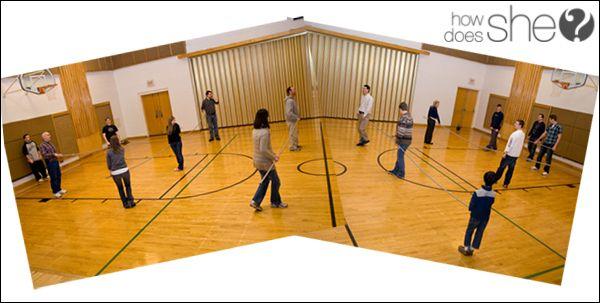Human Foosball Game