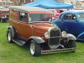 Photo Gallery Of Ford Panel Trucks And Sedan Deliveries Panel Truck Ford Pickup Trucks Old Ford Trucks