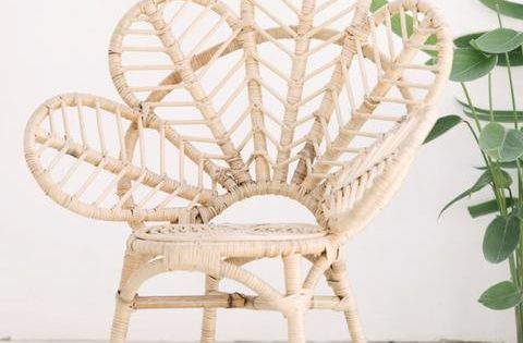 Mini Rattan Love Chair Bali Furniture Love Chair Rattan Chair