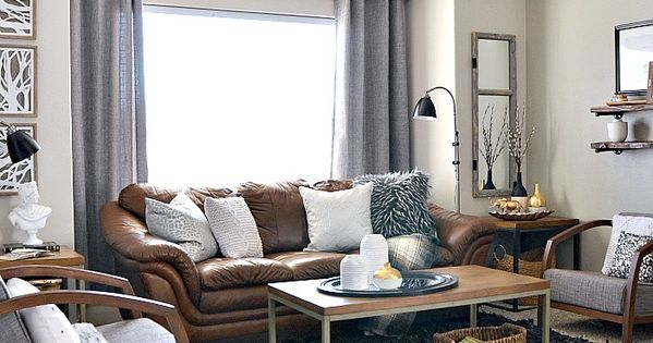 Home Decor Neutral Living Room Industrial Living