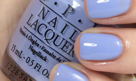 OPI - You're Such a BudaPest is a lilac-periwinkle shade with a