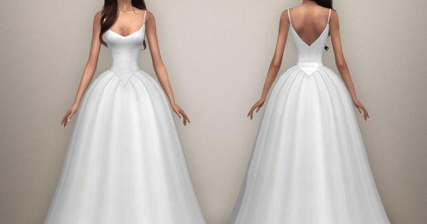 ... by BEO.  Clothes ... Vêtements  Pinterest  Sims 4, Mariage et Lys