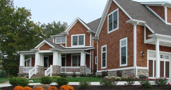 Cedar Dream Shingle House Craftsman Home Exterior Cedar House Siding