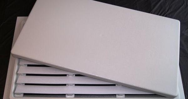 White 16x24 Crawl Space Door With Louver Crawl Space Door Crawlspace Doors