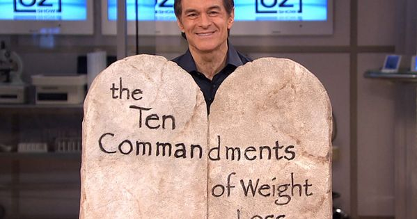 Dr. Oz's 10 weight loss tips