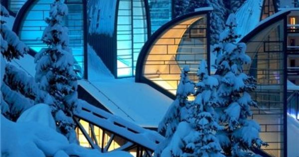Tschuggen Bergoase Spa, Winter Wonderland