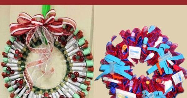 Lab Christmas Wreaths Medical Laboratory And Biomedical