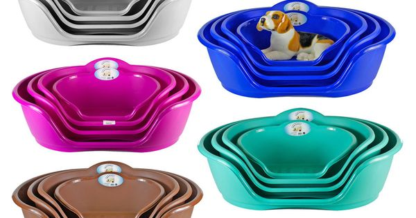Heavy Duty Plastic Waterproof Pet Dog Cat Bed Basket Available In 4 Sizes In Pet Supplies Dog Supplies Be Plastic Dog Beds Plastic Dog Crates Dog Crate Cover