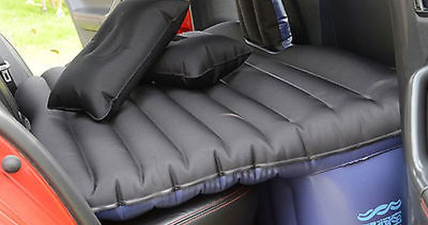 Heavy Duty Car Suv Travel Inflatable Mattress Back Seat Camping Air Bed W Pump Inflatable Mattress Inflatable Air Mattress Air Bed