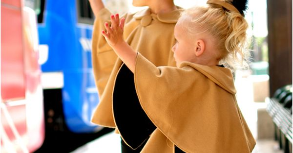 The Audrey Cape Tutorial - So cute on a little girl! This