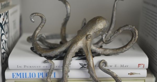 Octopus Paper Weight/ Book Decoration? I think, yes. Most certainly.