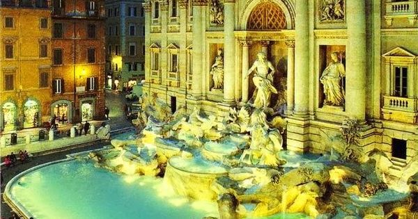 Trevi Fountain, Rome, Italy: magnificence, splendour, culture, feast, can't wait to see
