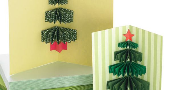 How to make a 3D Christmas Tree Card. christmascard holidaycard christmas cards