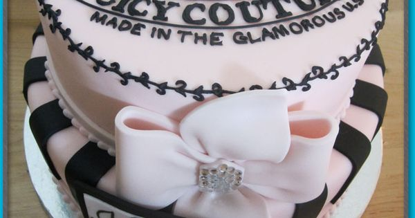 Juicy couture, Couture and Cakes on Pinterest