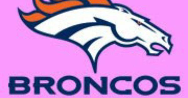 Denver Broncos Color Powerful Pinks Pinterest