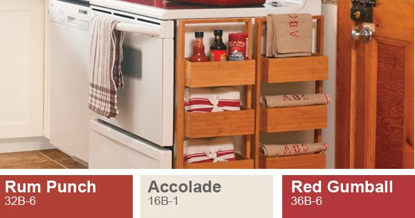 Red Paint Color Inspiration Ideas From The Pittsburgh Paints Paint Color Palette At Menards