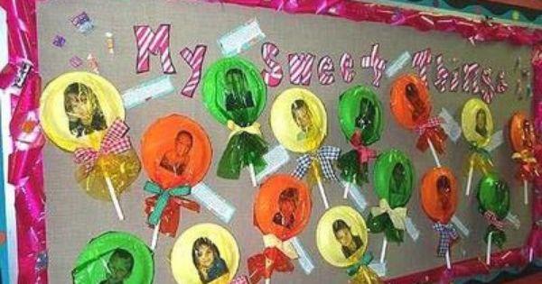 Preschool Classroom Valentine Ideas ~ Preschool family bulletin board christmas