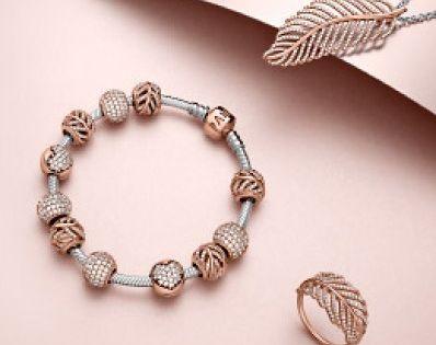 bracelet pandora or rose - Pinterest