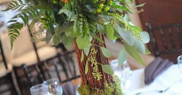 Décoration florale pour table - idées mariages en automne  Mariage ...