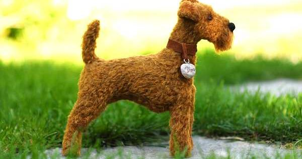Irish Terrier Teddy Bar 3 Terrier Irischer Terrier Filz Hunde
