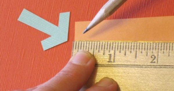 Easy Math for Artsies: easy measurement placement for paper