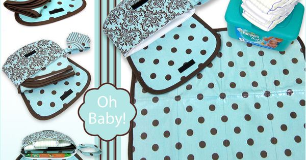 Oh Baby With Fabric Com Travel Diaper Case Amp Changing