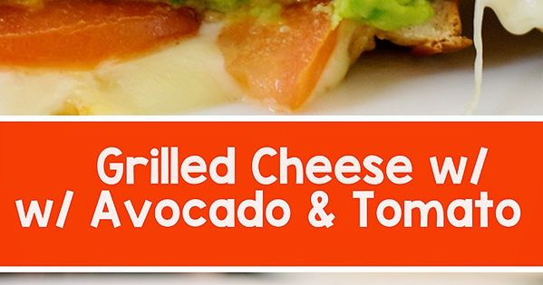 Grilled cheese avocado, Grilled cheeses and Avocado on Pinterest