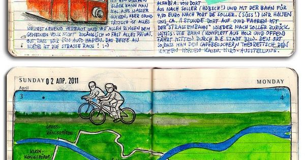 Moleskine By Kathrin Jebsen-Marwedel | travel journals. Wow this is an amazing