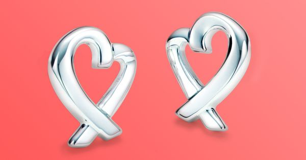 From one heart to another. Paloma Picasso® Loving Heart earrings in sterling
