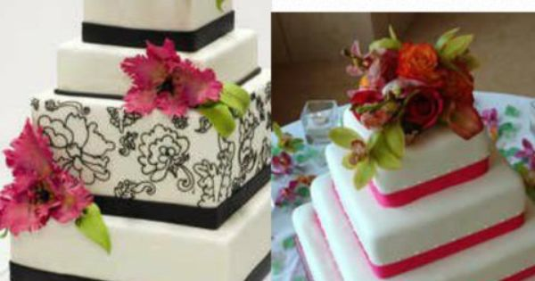 Unique cakes, David tutera and Yellow flowers on Pinterest