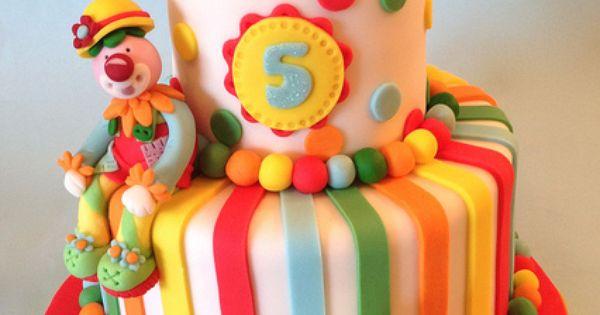 circus cake zirkus kindertorten und cupcakes. Black Bedroom Furniture Sets. Home Design Ideas