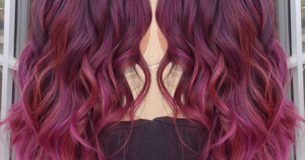 Rose Purple Color Melt Hair Color 2015 Ombr 233 Red