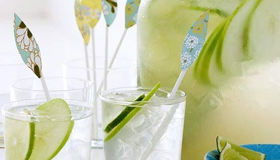 DRINKS - Apple Lime Coolers - does this look refreshing or what?