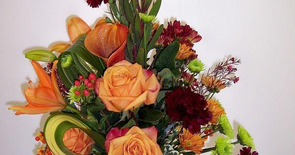 Fall flower arrangements grandeur