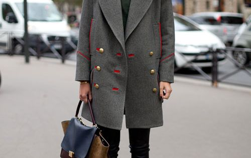 SPRING 2013 PARIS FASHION WEEK Isabel Marant coat and boots and Celine