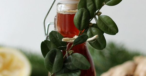 Ginger syrup, Syrup and Fruit on Pinterest