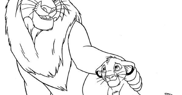 König Der Löwen Ausmalbilder Basteln Mit Kindern Jugendlichen