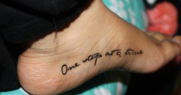 Get a white ink tattoo above the arch of my left foot