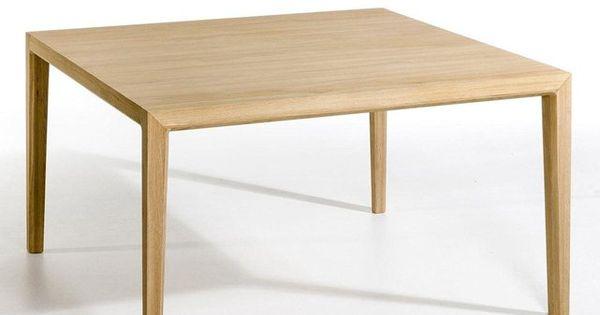 Table carr e nizou design emmanuel gallina am pm la for La redoute table de salle a manger