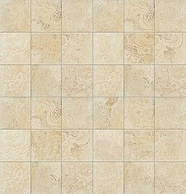 Travertine Floor Tile Texture Seamless