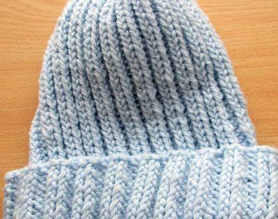 Basic Knitted Stocking Hat Free Pattern Free Pattern