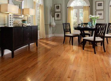 3 4 X 2 1 4 Builder S Pride Butterscotch Oak For The Kitchen To Match The Older Surrounding Floors Golden Oak Floors Flooring Hardwood Floors