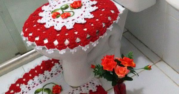 Jogos De Banheiro Vermelho E Branco : Jogo banheiro vermelho e branco artes? ivana guimar?es