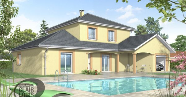 Plan maison tage plan maison m diterran enne plan maison r gionale maisons - Prix maison clair logis ...
