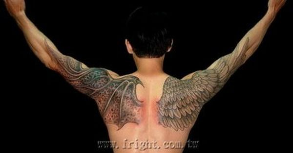 Demon Wing Wings Tattoo Demon Tattoo Angel Wings Tattoo